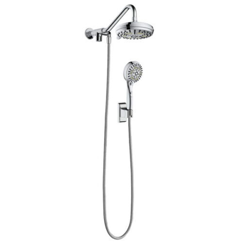 Oasis Pulse Shower System - The 5-function showerhead and 6-function handshower give you the optimal spray choices to suit your every need.